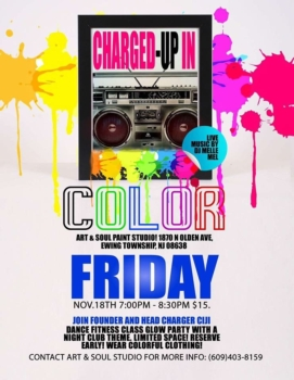 CHARGED UP In Color!
