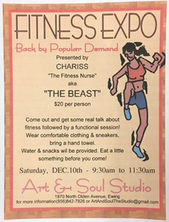 FITNESS EXPO! with Cheriss (AKA The BEAST!)