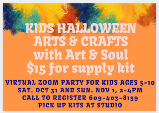Kids Halloween Arts & Crafts on Zoom