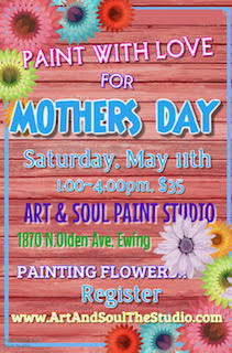 """Mother's Day"" Paint & Smile"